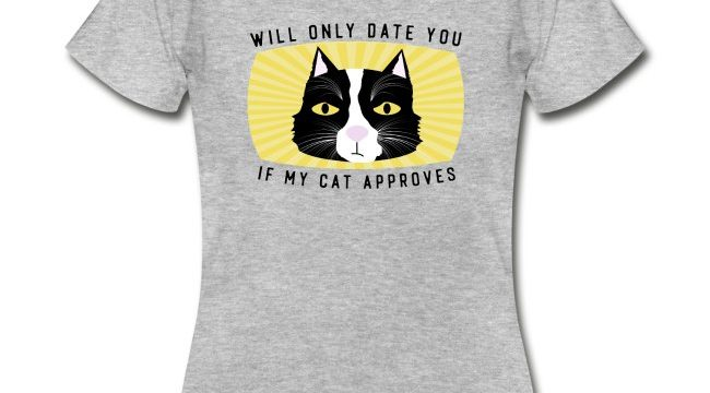 Will Only Date You If My Cat Approves (Merch inspired by Charles)